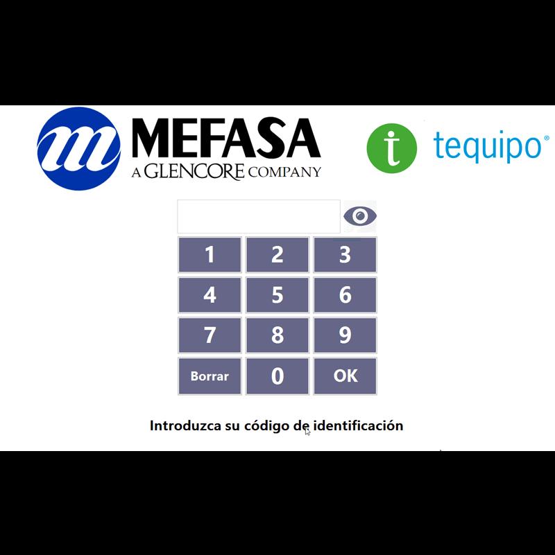 Personalización Mefasa