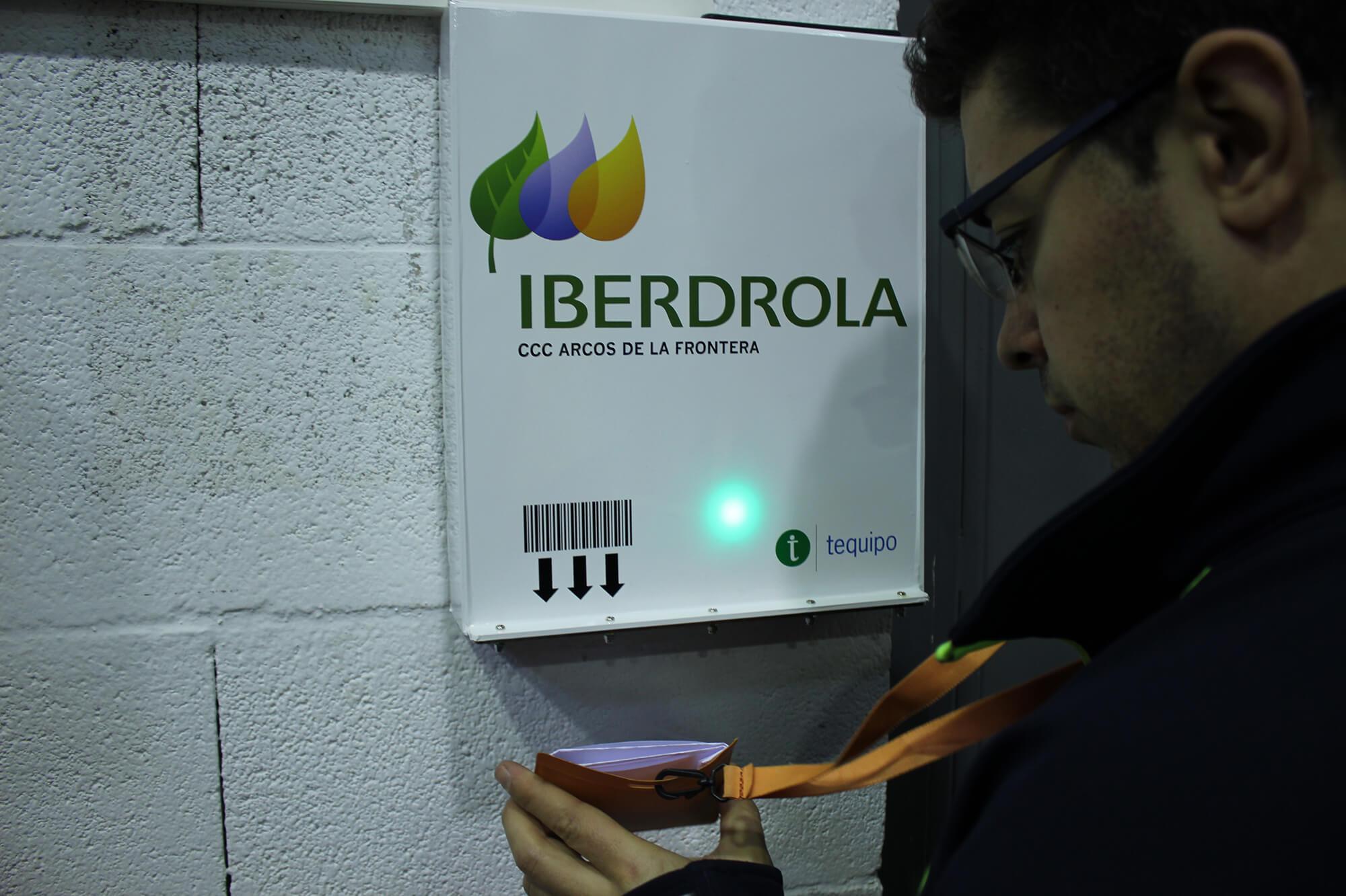 Control de acceso Iberdrola