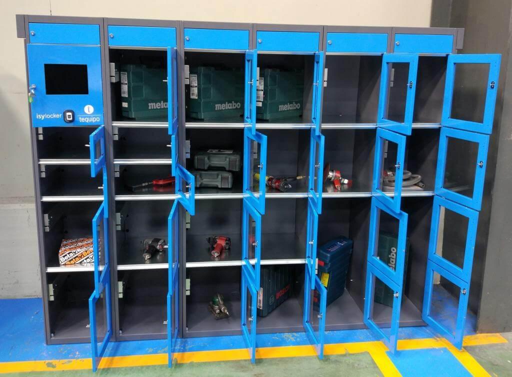 Interior armario automático