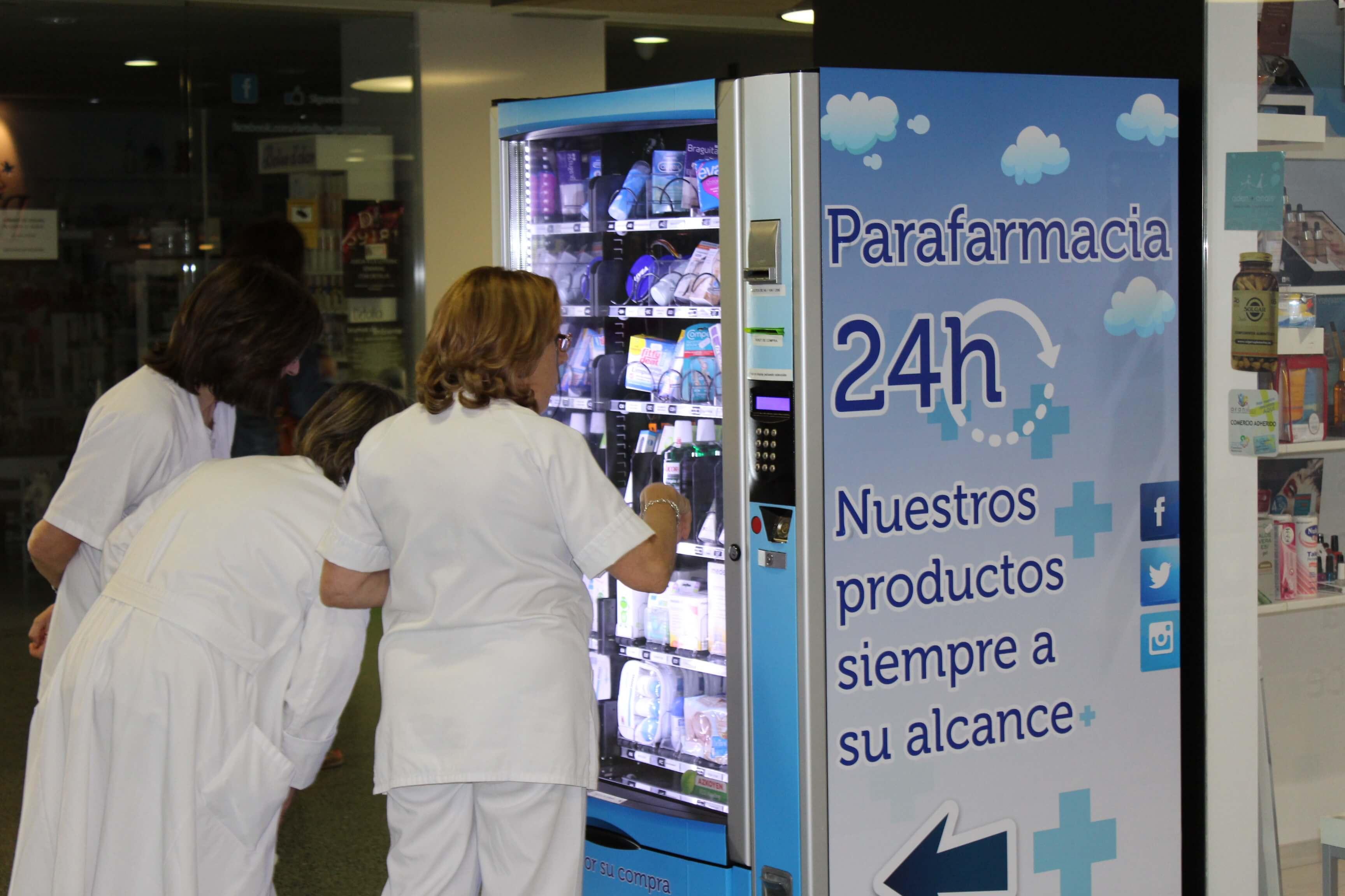 Máquina expendedora hospital