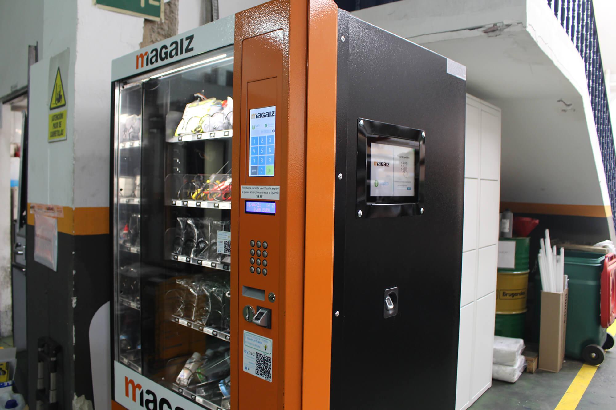 Máquina expendedora Magaiz