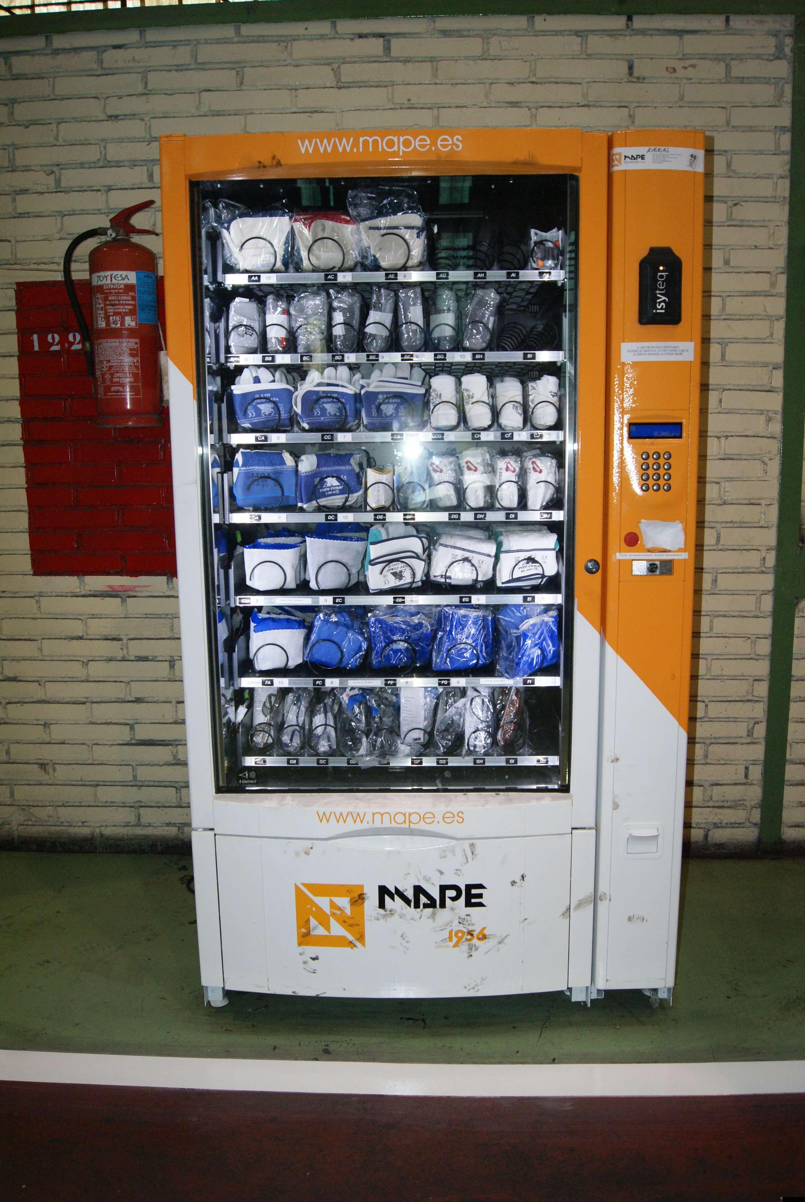 Máquina expendedora Mape